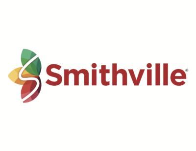 Smithville logo with leaf