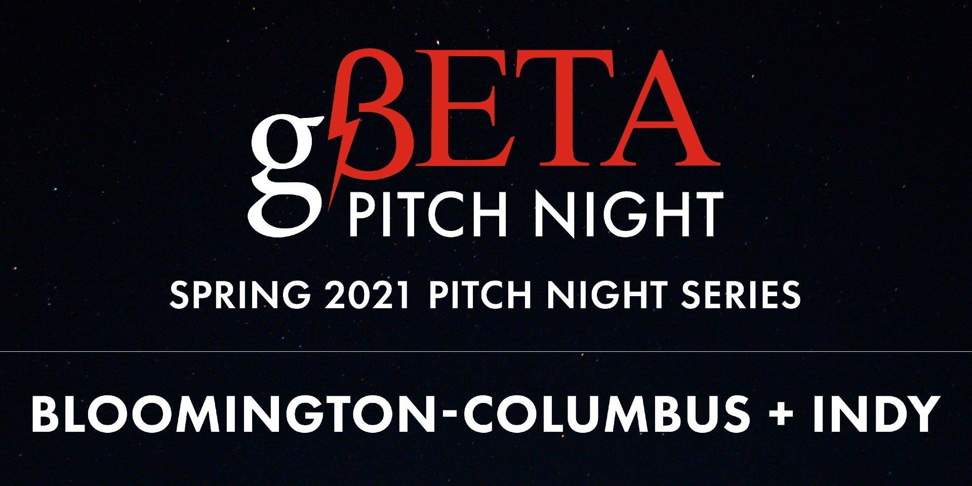 gBeta Pitch Night banner